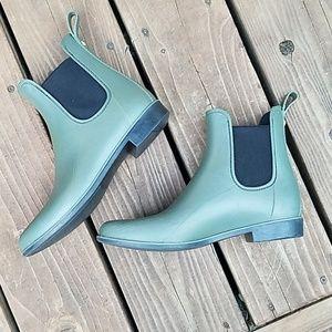 Sam Edelman Olive Green Tinsley Rain Boots